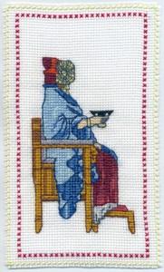 Otras técnicas artísticas - Dama de Elche bordada