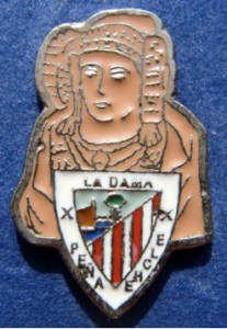Objeto - Insignia (Pin Badge) Futbol At. Bilbao