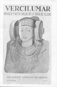 Libro o impreso - Vercilumar. Novela y Mito solar de la Dama de Elche