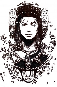 Dibujo - Dama Björkson (1962-2012)
