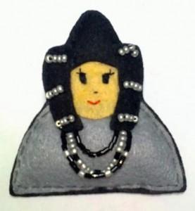Objeto - Dama de Elche broche