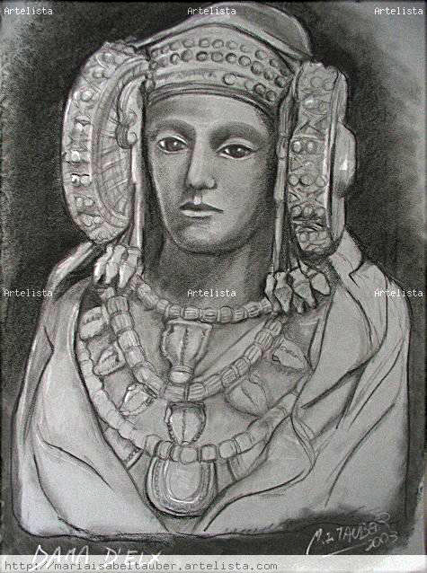 Dibujo - Dama d'Elx