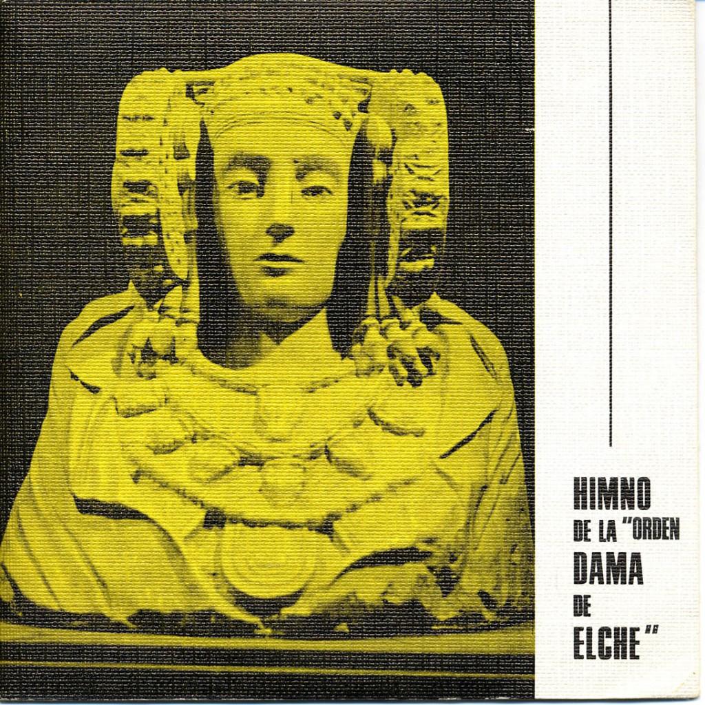 """Objeto - Himno de la """"Órden Dama de Elche"""""""