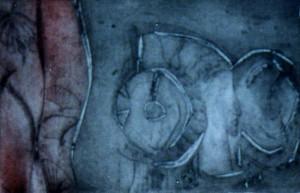 Grabado - Serie Dama de Elche: Dama y Misteri