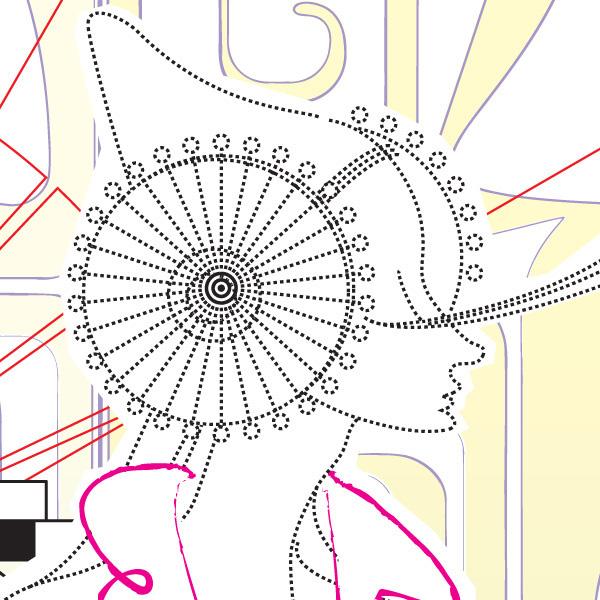 Cartel - Cartel presentado a Tokyo designer's week 2010 (Fragmento)