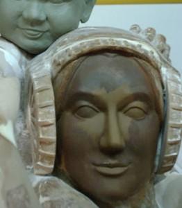Escultura - Dama ibérica (Fragmento)