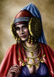 Pintura - Iberian Lady