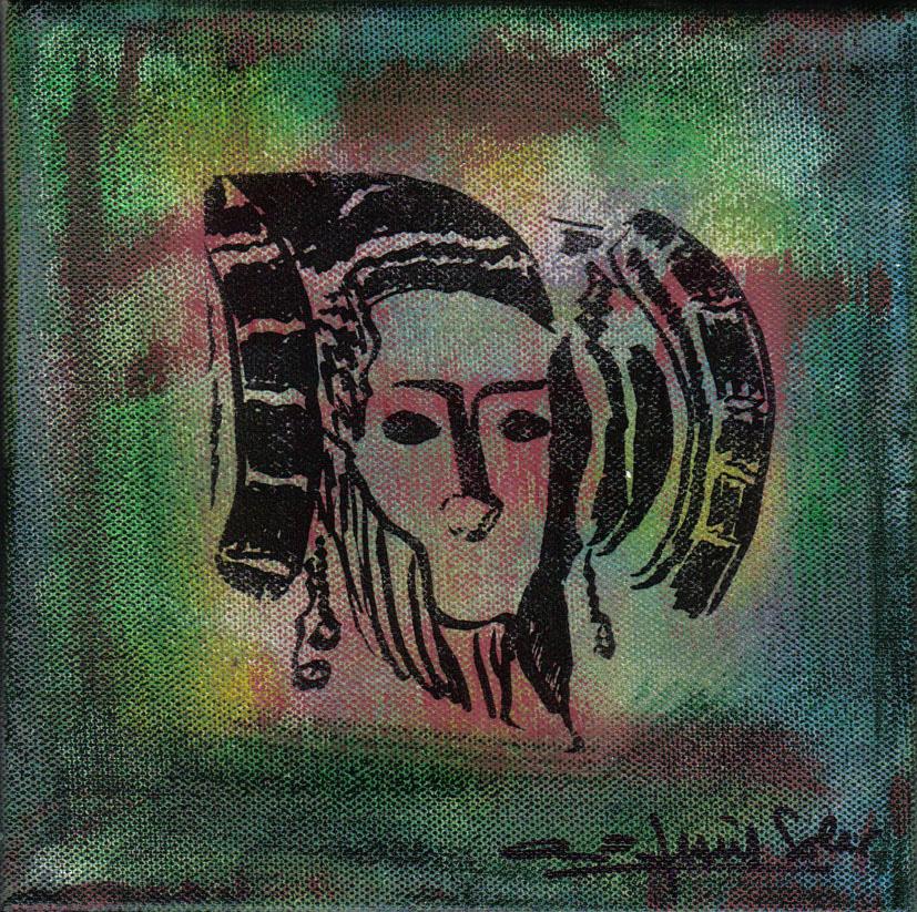 Pintura - Dama de Elche 1