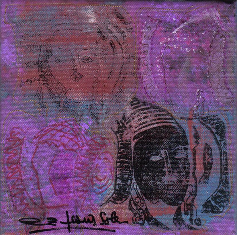Pintura - Dama d'Elx 2