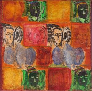 Pintura - Dama d'Elx 4
