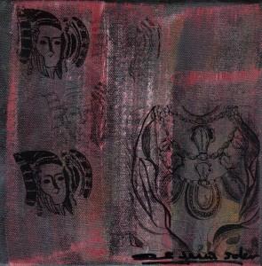 Pintura - Dama d'Elx 5