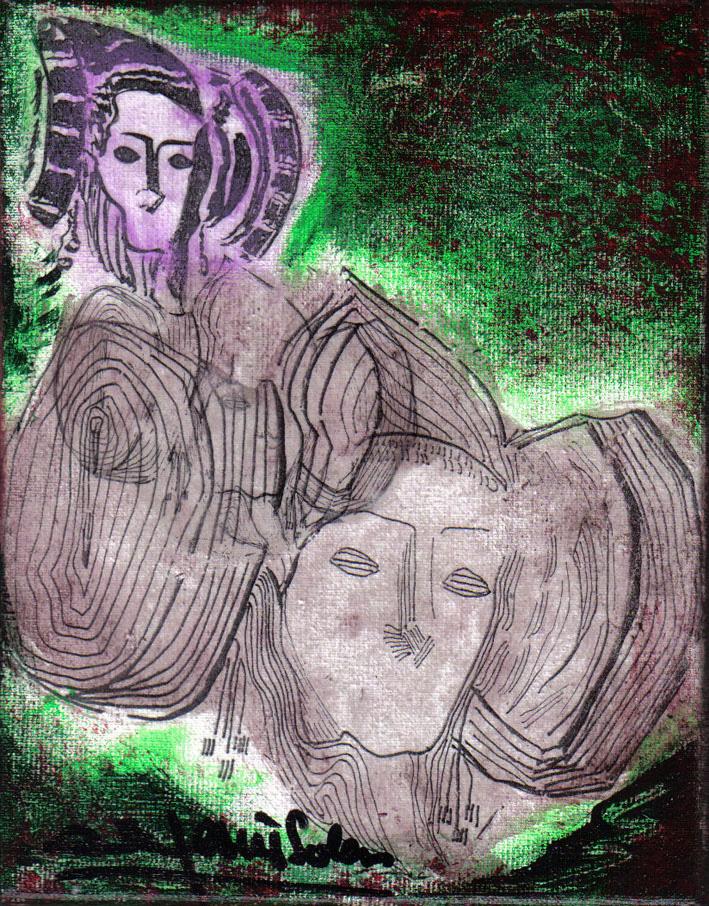 Pintura - Dama d'Elx 6