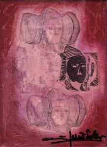 Pintura - Dama d'Elx 7