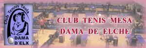 Logotipo - Club Tennis Taula Dama d'Elx