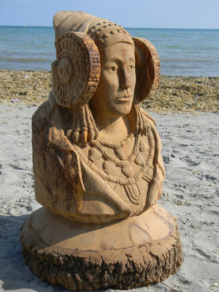 Escultura - La Dama d'Elx