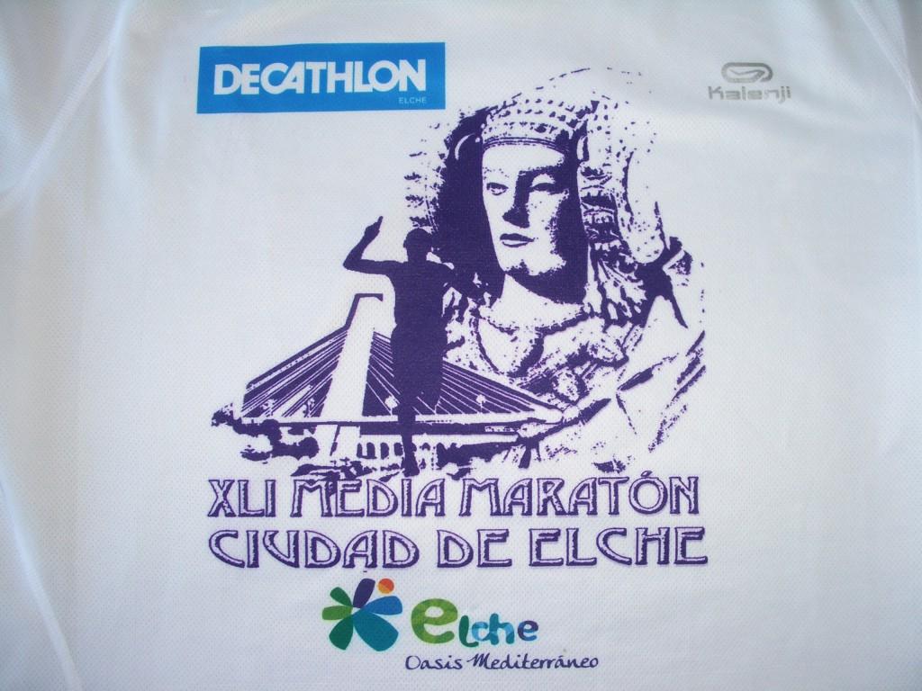 Otras técnicas artísticas - Camiseta XLI media maratón Ciudad de Elche