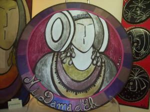 Objeto - Tabla de cocina Mi Dama d'Elx