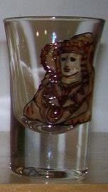 Objeto - Vaso chupito Dama d'Elx