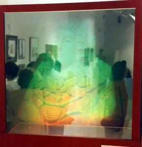 Objeto - Holografía de la Dama de Elche