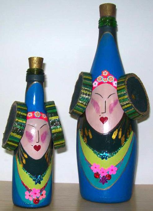 Objeto - Botella Dama d'Elx