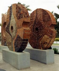 Escultura - Homenaje a la Dama de Elche