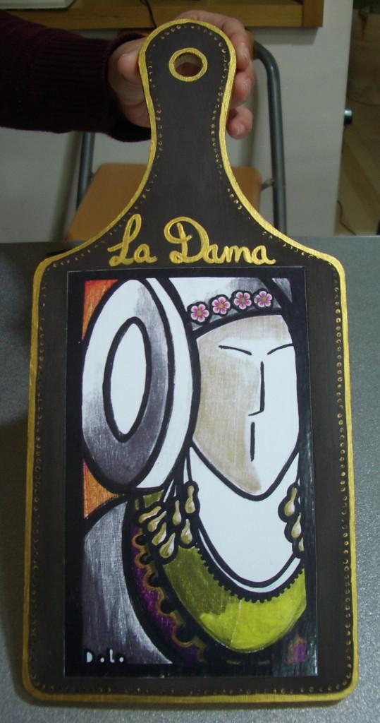 Objeto - Tabla de cocina La Dama