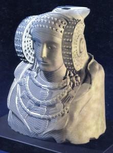 Objeto - Dama de Elche puzzle 3D