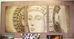 Pintura - Tríptico Dama de Elche