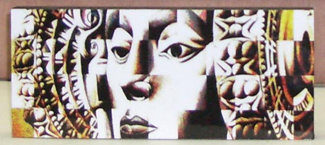 Objeto - Placa Dama de Elche