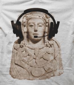 Objeto - Camiseta Dama de Elche dj