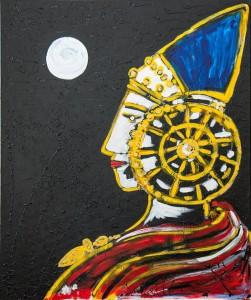 Pintura - La Dama del Crepúsculo