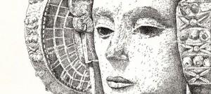 Dibujo - Dama de Elche