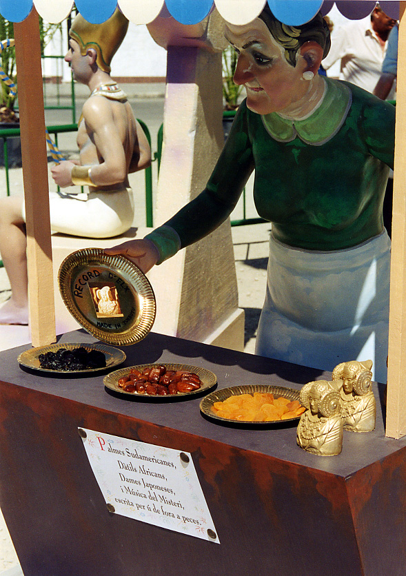 Escultura - Foguera del Raval 2001
