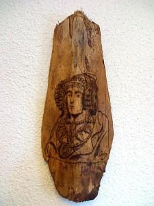Grabado - Tabala Dama de Elche