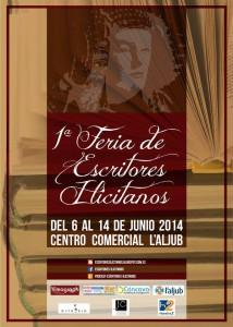 Cartel - 1ª Feria de Escritores Ilicitanos