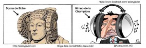 Dibujo - Chiste Elche-Athetico de Bilbao