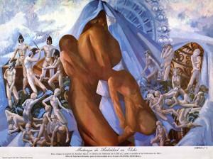 Pintura - Matanza de Asdrúbal en Elche