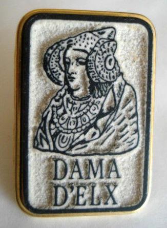 Objeto - Insignia Dama d'Elx