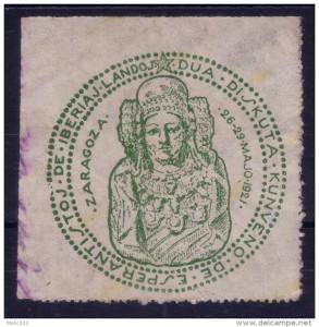 Timbre - Escudo esperanto