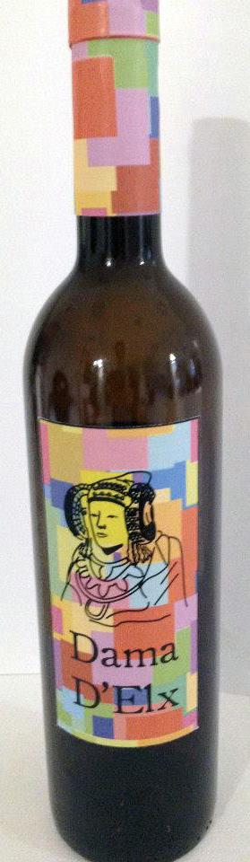 Objeto - Etiqueta Botella de vino