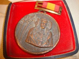 Objeto - Medalla antigua Dama de Elche Palmeral