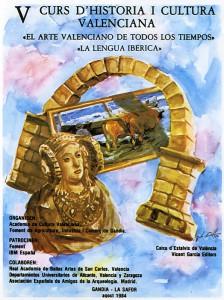 Cartel - V Curs d'Historia i Cultura Valenciana