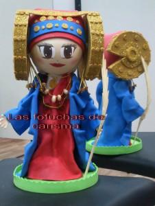 Objeto - Fofucha dama de Elche