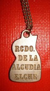 Objeto - Colgante recuerdo de La Alcudia