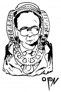 Dibujo - Dama de Elche - Alcalde
