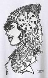 Dibujo - La Camiseta de la Dama