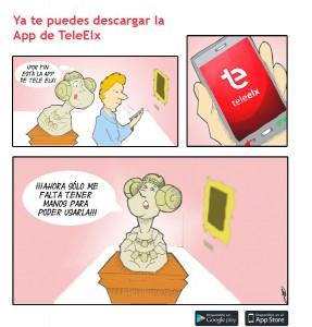 Dibujo - Anuncio App de TeleElx