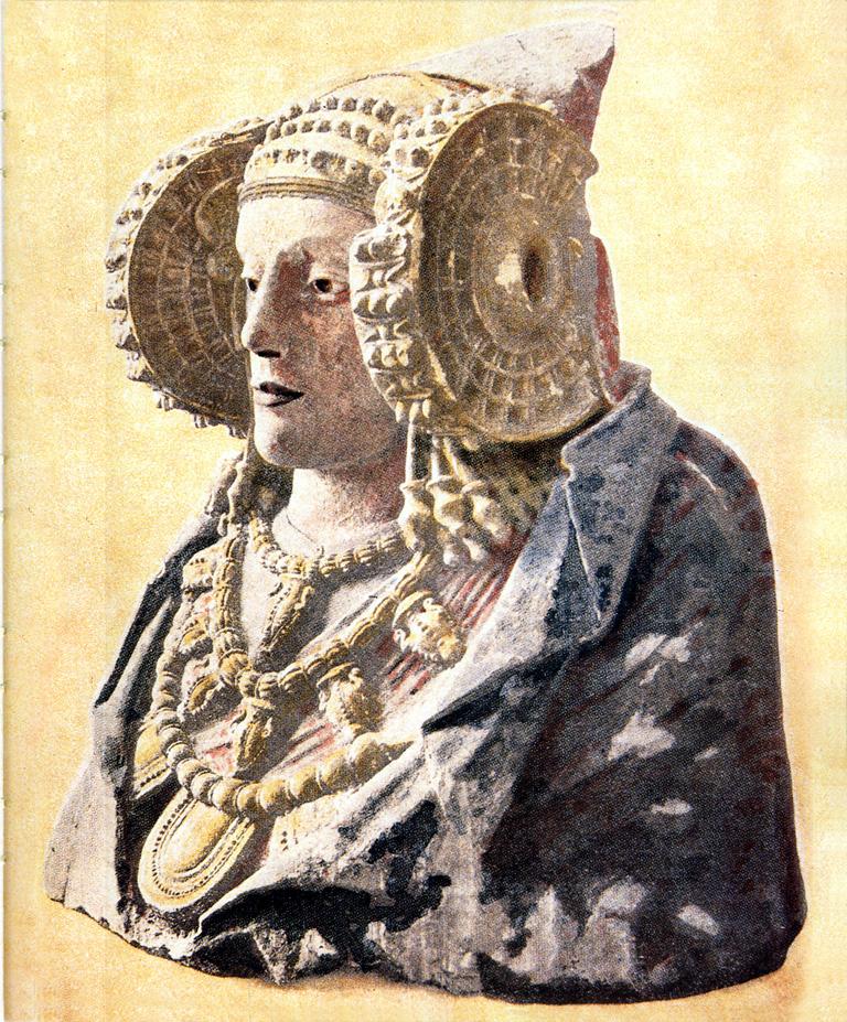 Estampa - Dama de Elche