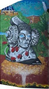 Pintura - La Dama y Elche