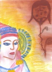 Pintura - Diosas de sangre y de sol